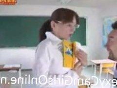 Sexy Japanese Teacher Fucks Her Student
