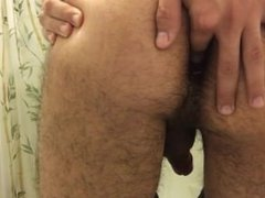 Latino Twink with a Butt Plug