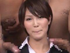 Japanese uniform news compilation JAV
