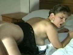 Wife gets a bbc creampie