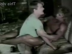 Female bodybuilder body scissors a man to death with her tighs