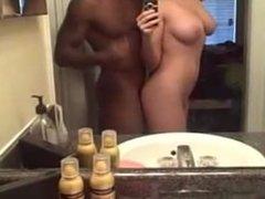 Interracial Bathroom Sex