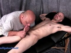 straight guy get a handjob and a blowjob