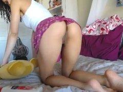 Que mulher gostosa! novinha na webcam