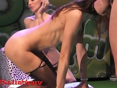 Daniela Evans & Valentina Bianco doing 3some