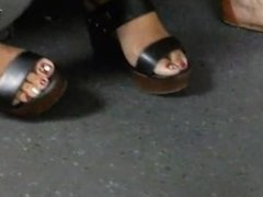 mature feet candid indian women soles