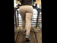 Big ol treadmill booty