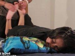 Bed Foot Tickling 2