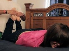Bed Foot Tickling 3