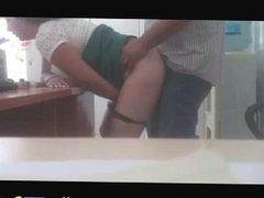 Creampied The Company Secretary In The Office