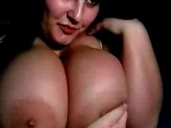 BBW Teen Playing Her Big Boobs