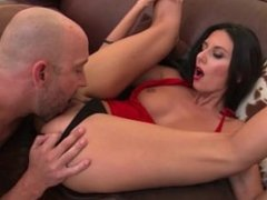 Elegant Brunette Nikki Daniels Jumps On Dick