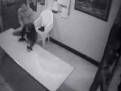 Coworkers Allegedly Caught on Security Cam