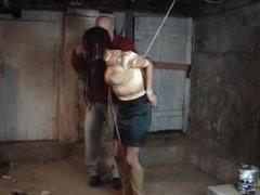 Crotch rope torment