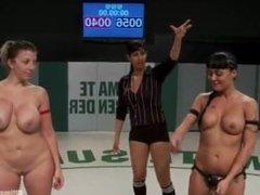 wrestling sara jay & mahina