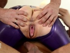 Latex lucy spanking therapy p2