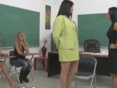 Spanking a Little Schoolgirl