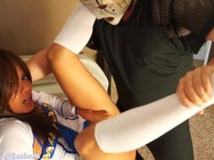 Sailor Poon Asian meets Masked Pervert