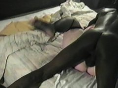 Brutal Gangbang in Motel