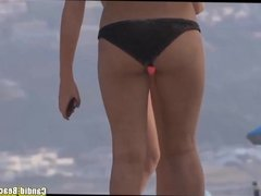 Bikini Girls Cameltoe Beach voyeur HD Video