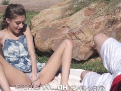 FantasyHD - Rebel Lynn has sex with stranger in public