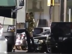 Miley Cyrus gets Fingered by a Girl on Tour
