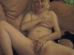 neighbour gives me a taste of my own pussy round his cock