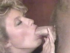 Ginger Lynn gets a facial from Jerry Butler