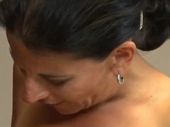 Hairy milfs  with not her son