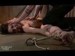 Extreme Bondage, Brutal Foot Torture, And Screaming Orgasms