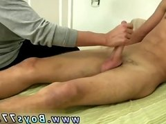 Shaved outdoor gay twink and shirtless