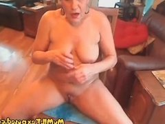 My MILF Exposed Tight and Busty MILF riging big toy