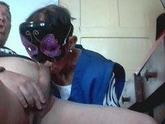Boquete com mascara