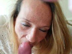 Milf slut Kyrafucktoy gets a facial!