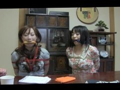 Two Japanese Girl Tied And Gagged 2