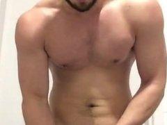 Naughty Guy Jerking Off (Cum Eating)