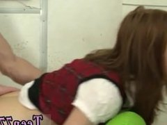 Movie theater blowjob and black teen white stepdad first time Redhead