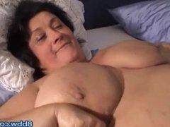 Monster Huge Big Hanging Mature BBW Tits