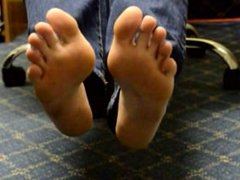 TSM - Lola's lace sock removal at work
