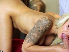 German Porn Model Nina Elle Oral Sex HD
