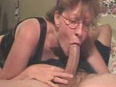 Ugly Mature shows she can still make cock grow hard with deepthroat skills1