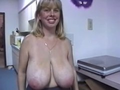 Married Biker Chick 34F Boobs