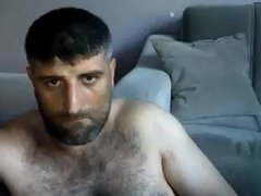 Masturbating Turkey-Turkish Bear Volkan Ist. Shows Big Dick