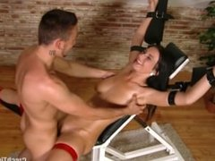 Roxy fucked and tickled on the devil