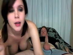 Sucking and riding a dick
