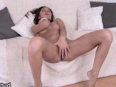 Breathtaking tight nympho gets her spread sli