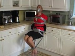 bondage on chair