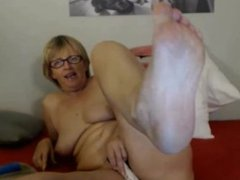 Granny Pussy and Feet 1