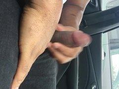 Dick flash parking lot