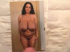 Big boobs Latina cum tribute 7